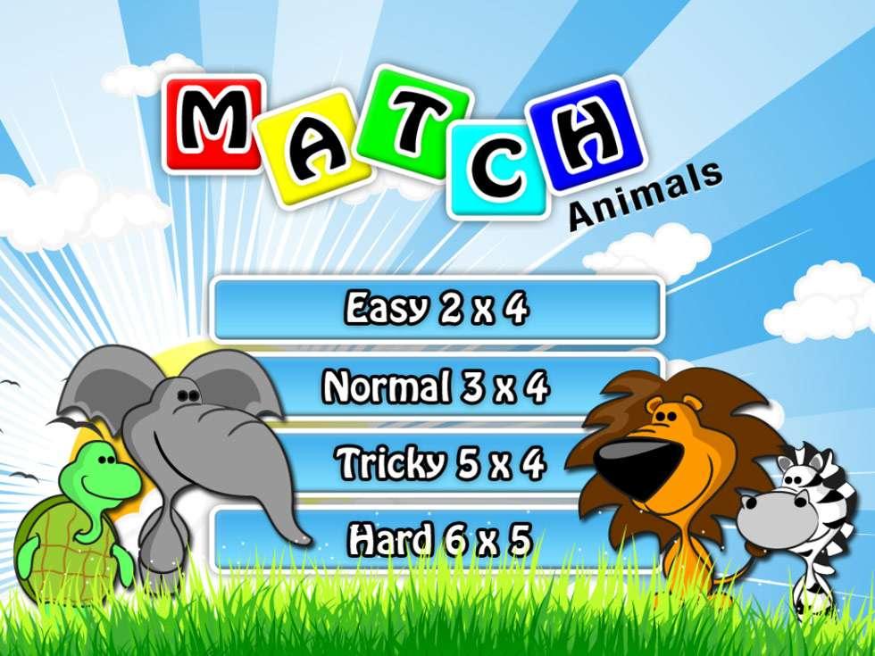 Bild på memoryspel djur