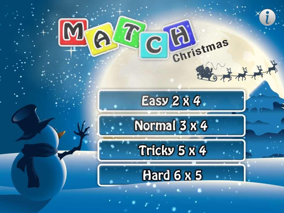 Bild på memoryspel - jul