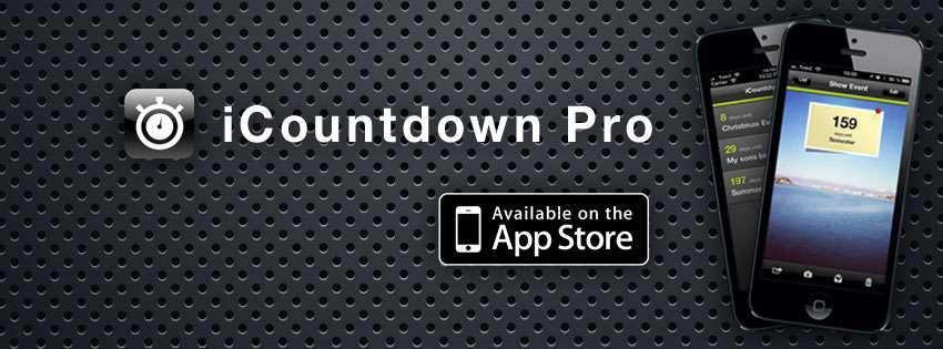 Bild på iCountdown Pro nedräknings app