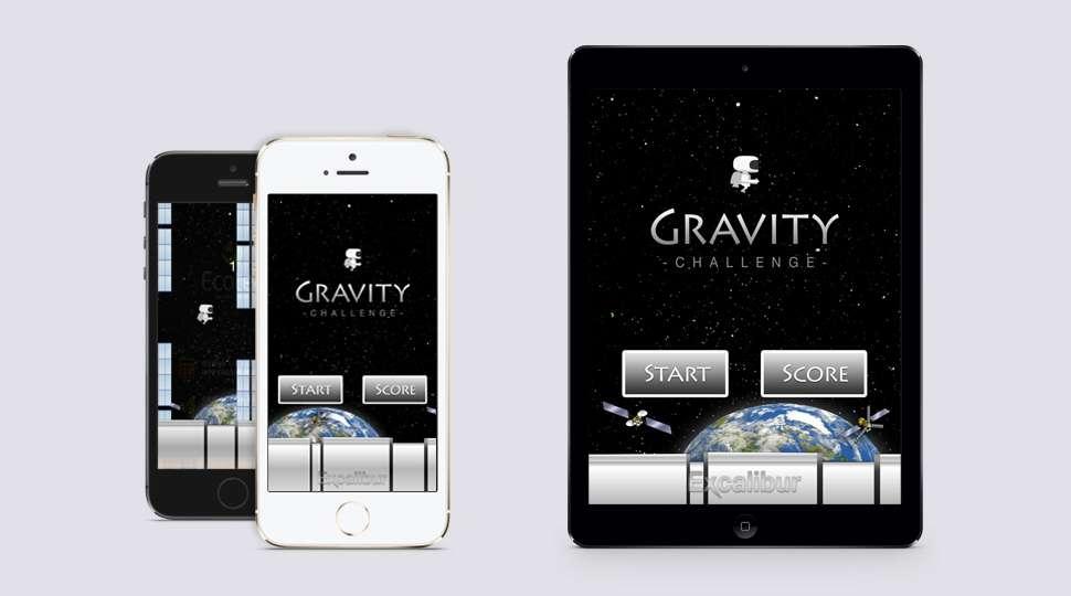 Bild på Gravity App