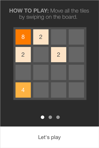 bild på 2048 how to play