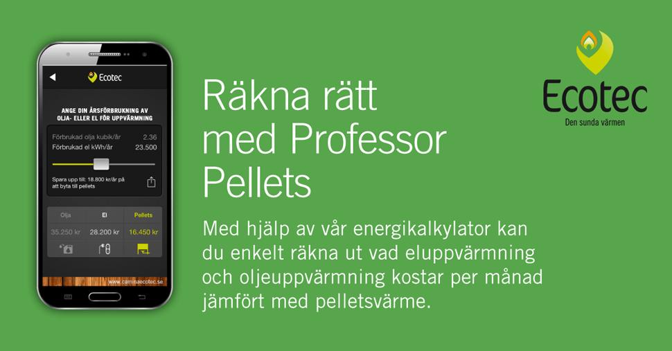 Bild på Android versionen av professor Pellets