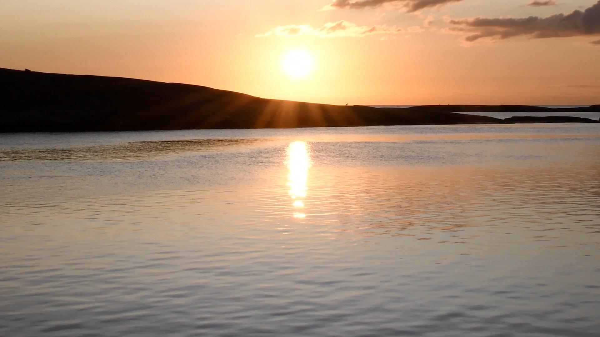 Bild på solnedgång - Oceans HD