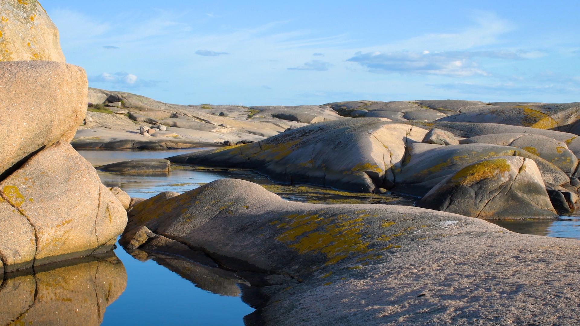 Bild på granitklippor - Oceans HD