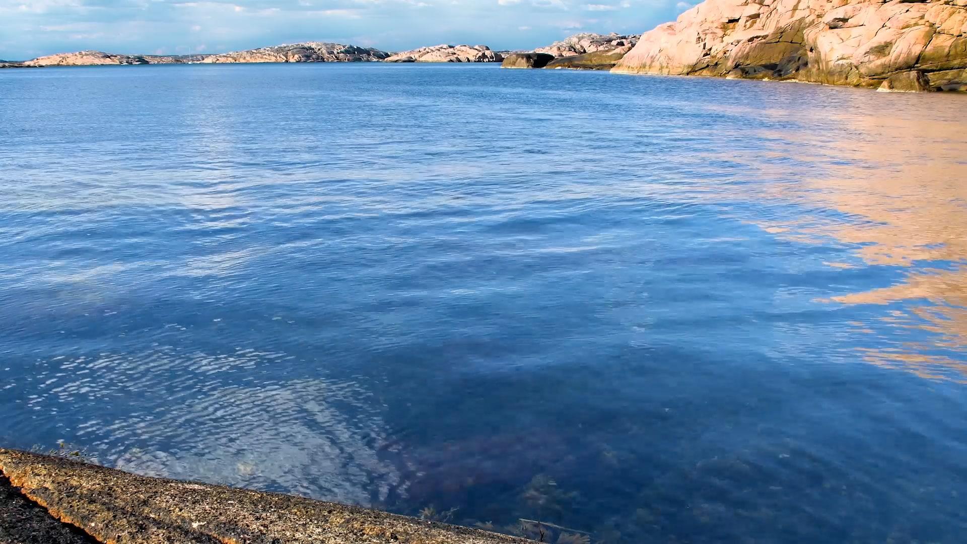 Bild på solig eftermiddag i Bohuslän - Oceans HD