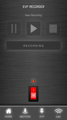 Bild på EVP recorder - App för spökjakt