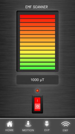 Bild på EMF mätare - App för spökjakt